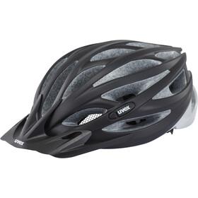 UVEX Oversize Cykelhjelm, black mat-silver
